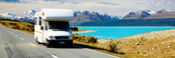 Traveling by motorhome, motorhome engine warranty