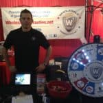 WholesaleWarranties.com owner Jeff at the 2013 Quartzsite RV Show