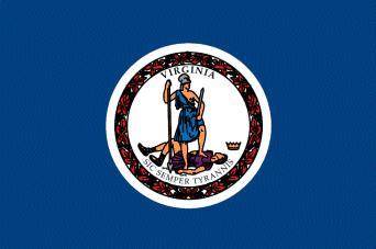 Virginia State Flag, RVing in Virginia