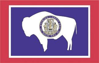 Wyoming State Flag, RV Warranties in Wyoming