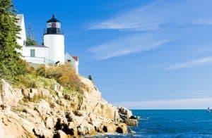 Lighthouse in Maine, RV Destination