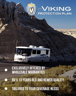 Viking Protection Plan RV Warranty from Wholesale Warranties